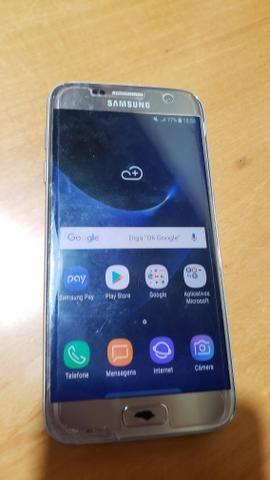 Samsung S7 Flat Dourado usado