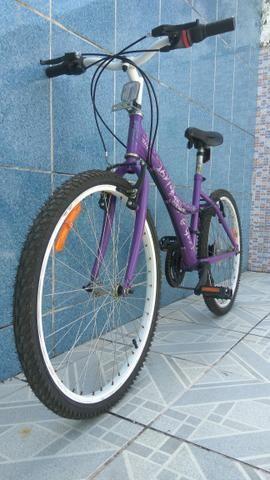 Aro 24 bicicketa urbana teen linda pra pessoas exigentes e detalhistas