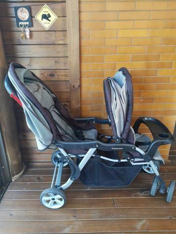 Carrinho de bebê para gêmeos - Foto 3