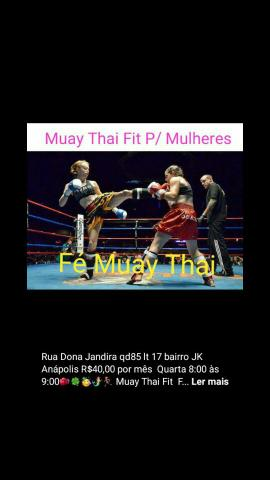 Treino de Muay Thai tradicional Fit