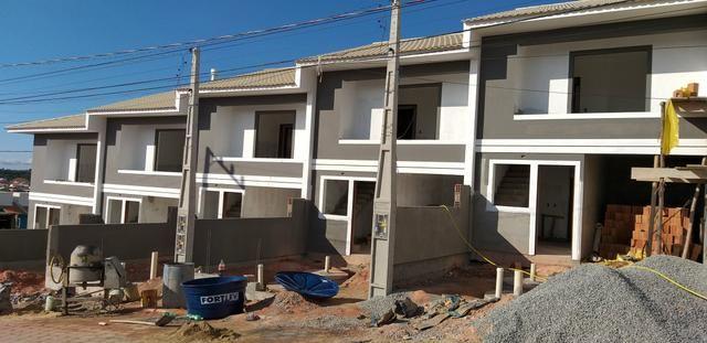 Casas na planta em São José SC