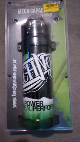 Sub woofer bravox E2k 12 polegada mais mega capacitor - Foto 2