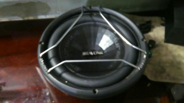 Sub woofer bravox E2k 12 polegada mais mega capacitor - Foto 6