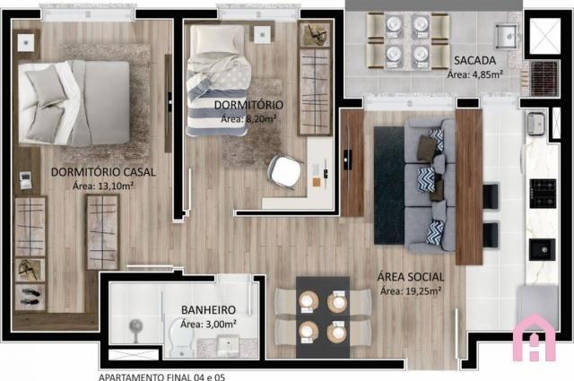 Apartamento à venda com 2 dormitórios em Panazzolo, Caxias do sul cod:2795 - Foto 16