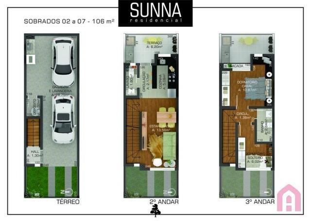 Casa à venda com 2 dormitórios em Colina sorriso, Caxias do sul cod:1251 - Foto 8