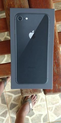 Iphone 8 64gb novo na garantia ainda. Somente venda. Aceito cartão de crédito - Foto 4