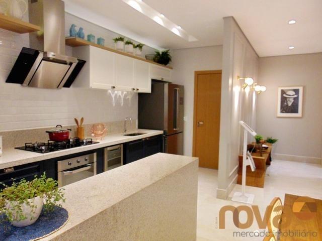 Apartamento à venda com 3 dormitórios em Setor marista, Goiânia cod:NOV235626 - Foto 5