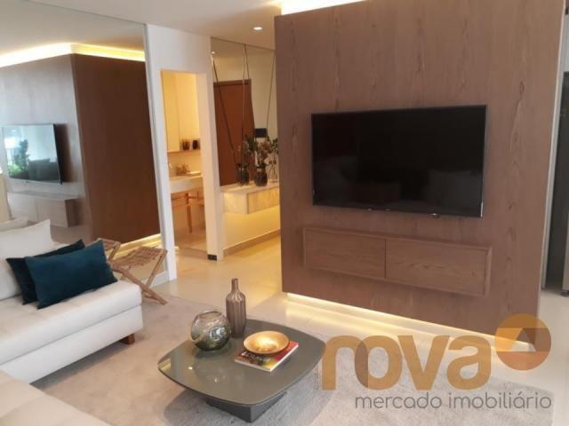 Apartamento à venda com 3 dormitórios em Setor marista, Goiânia cod:NOV89112 - Foto 3