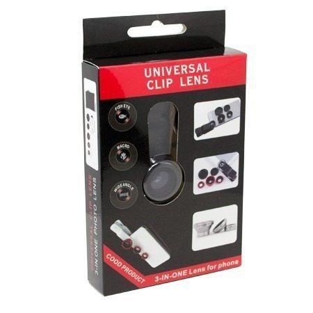 Universal Clip Lens 3 em 1 - Novo - Foto 2