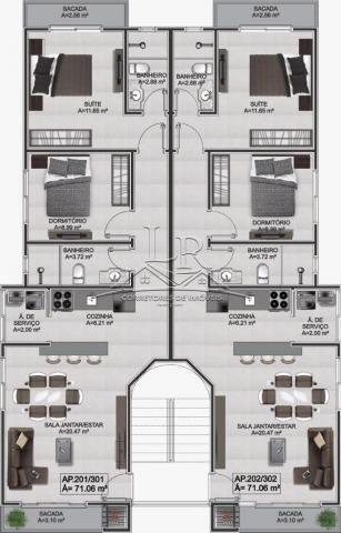 Apartamento à venda com 2 dormitórios em Ingleses, Florianópolis cod:1525 - Foto 12