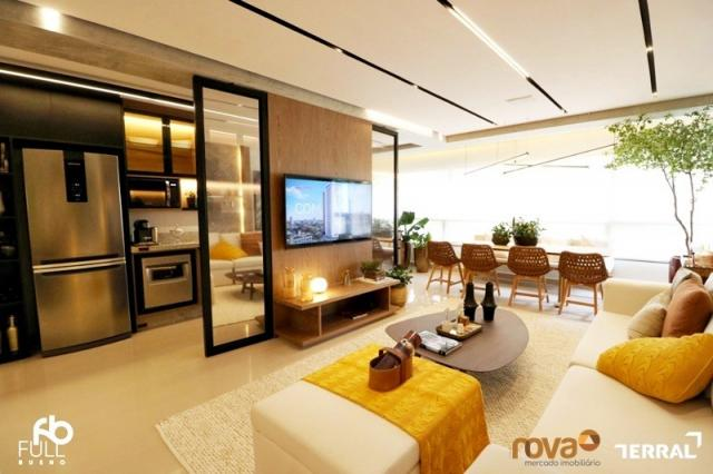 Apartamento à venda com 3 dormitórios em Setor bueno, Goiânia cod:NOV235717 - Foto 11