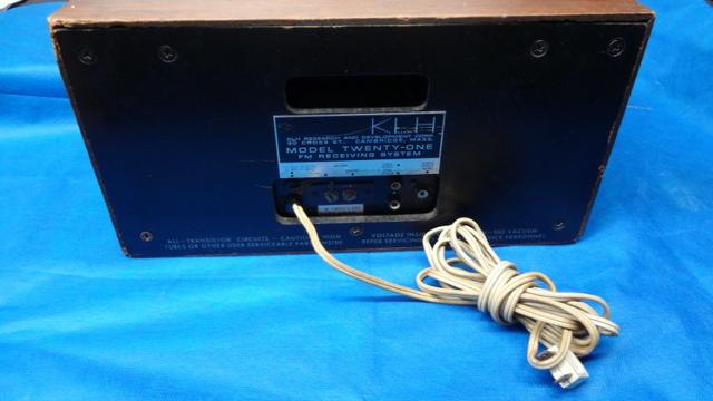 Radio Klh Model Twenty-one (21) Fm Radio (1965) - Foto 6