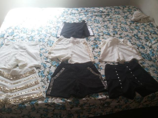 Bermudinhas novas (lote de roupa) baratissimo - Foto 2