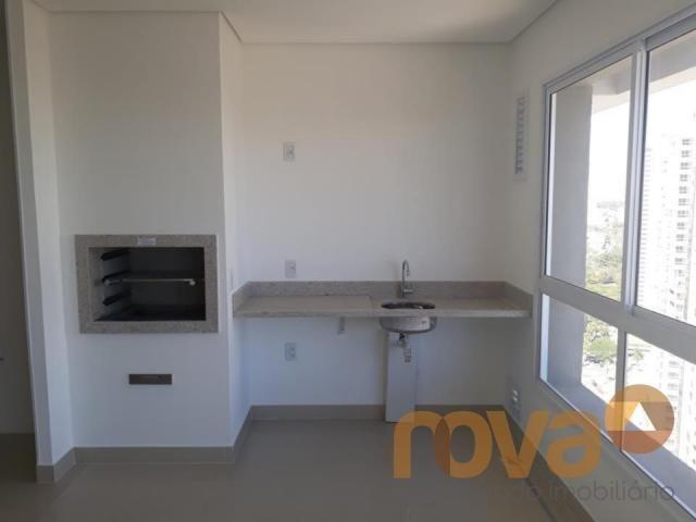 Apartamento à venda com 4 dormitórios em Setor marista, Goiânia cod:NOV87659 - Foto 3