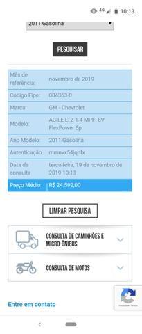 Agile LTZ 1.4 2011 - Valor R$ 22.500,00 - Foto 12