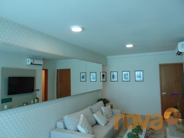 Apartamento à venda com 2 dormitórios em Setor bueno, Goiânia cod:NOV88059 - Foto 3