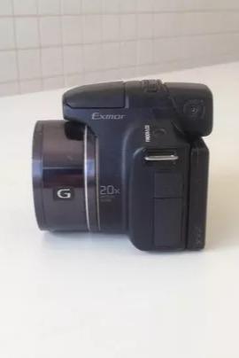 Câmera Semi Profissional Sony Cyber Shot - Usada - Foto 3