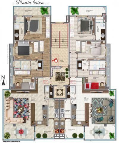 Apartamento à venda com 3 dormitórios em Cidade alta, Bento gonçalves cod:9904575 - Foto 11