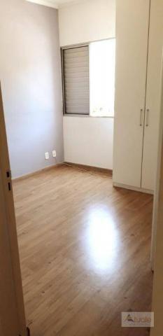 Apartamento com 3 dormitórios para alugar, 65 m² - parque euclides miranda - sumaré/sp - Foto 10