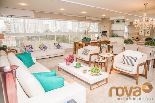 Apartamento à venda com 3 dormitórios em Setor bueno, Goiânia cod:NOV235442 - Foto 8