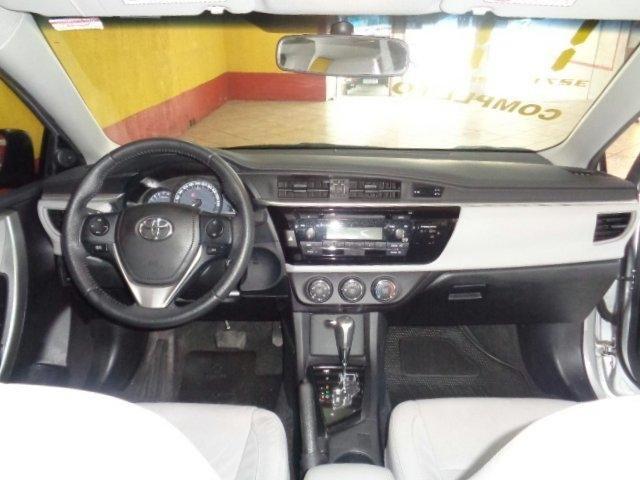 Toyota Corolla 1.8 gli upper 16v flex 4p automático - Foto 16