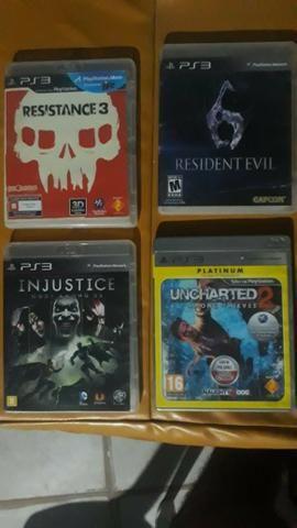 Vendo/Troco Jogos de PS3