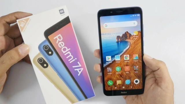 Promoção Xiaomi Redmi 7A + Película Grátis + Frete Grátis! Original, Novo e c/ Garantia