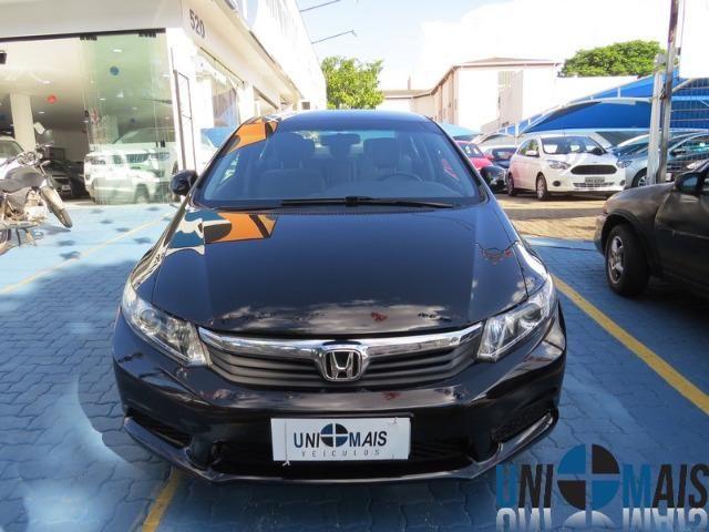 Honda Civic Automatico 2014 1.8 Lxs Completo Perfeito Estado Apenas 48.900 Lja - Foto 2