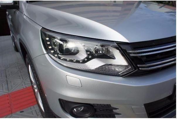Vw - Volkswagen Tiguan ? 2014- Teto Panorâmico - Xênon-Prata - Foto 5