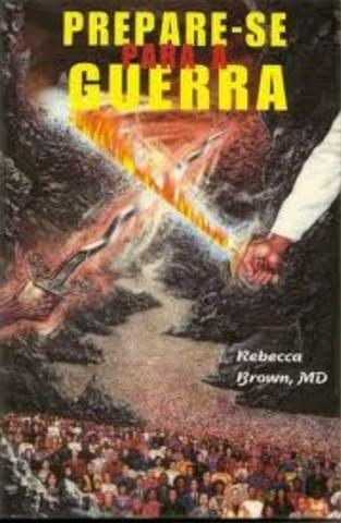 Livro Rebeca Brown prepare se para guerra