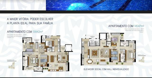 (JAM) TR13970 Apartamento a venda no Guararapes oportunidade 138 m² 3 Suites 3 vagas - Foto 2