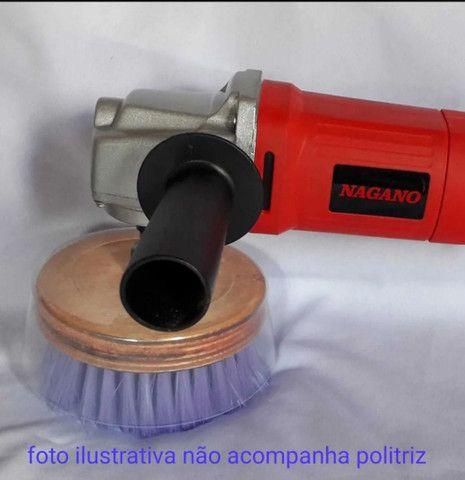 Escova para POLITRIZ M14/furadeira, Sabão APC  - Foto 3