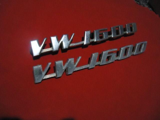 Emblema original vw 1600 - Foto 2