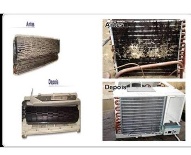 Manutençao de ar condicionado, geladeira, freezer