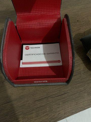 Relógio Technos Performance Sports Carbon JS26AC/1P 47mm - Prata - Foto 2