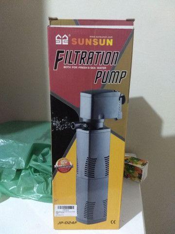 Filtro sunsun e UV para aquário - Foto 6