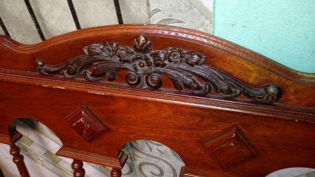 Cabeceira de cama antiga - Foto 5