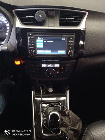 Sentra Sv 2.0 Flexstar 16v Automatico 2017 Branca 2 Dono !! - Foto 8
