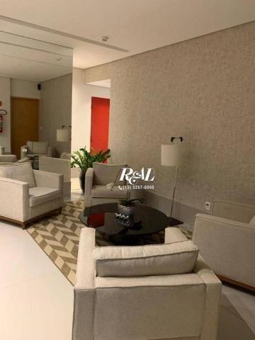 Apartamento com 2 dormitórios (1 suíte) à venda e locação, 72 m² - Gonzaga - Santos/SP - Foto 20
