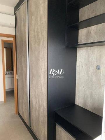 Apartamento com 2 dormitórios (1 suíte) à venda e locação, 72 m² - Gonzaga - Santos/SP - Foto 8