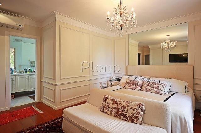 Casa à venda com 4 dormitórios em Sítios de recreio gramado, Campinas cod:CA026073 - Foto 17