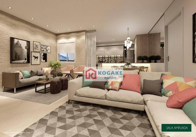 Apartamento com 2 dormitórios à venda, 65 m² por R$ 331.980 - Parque Industrial - São José