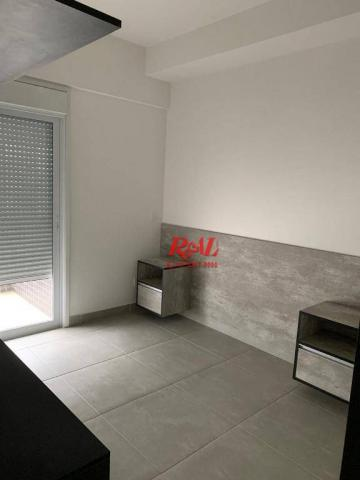 Apartamento com 2 dormitórios (1 suíte) à venda e locação, 72 m² - Gonzaga - Santos/SP - Foto 17