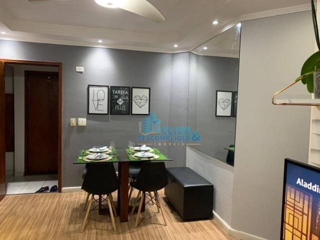 Apartamento com 1 dormitório à venda, 47 m² por R$ 215.000,00 - Estuário - Santos/SP