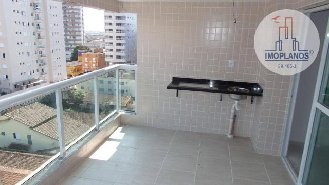 Apartamento com 2 dormitórios à venda, 80 m² por R$ 310.000,00 - Caiçara - Praia Grande/SP - Foto 17