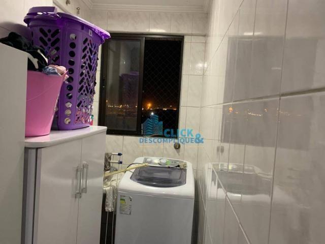 Apartamento com 1 dormitório à venda, 47 m² por R$ 215.000,00 - Estuário - Santos/SP - Foto 7