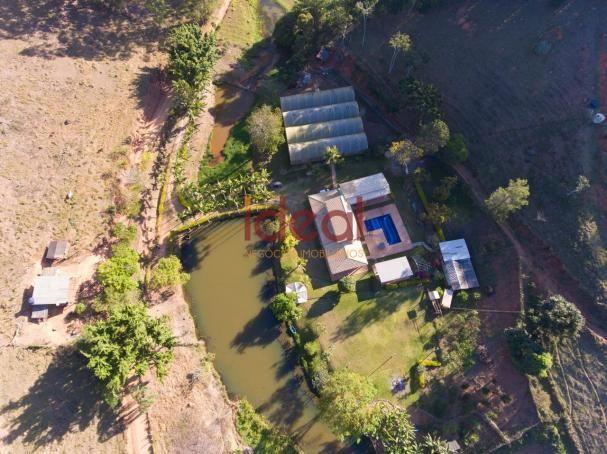 Sítio à venda, 8 quartos, 5 vagas, Zona rural - Viçosa/MG - Foto 2