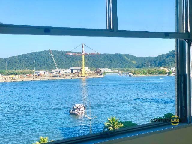 Apartamento com 3 dormitórios à venda, 98 m² por R$ 575.000,00 - Ponta da Praia - Santos/S