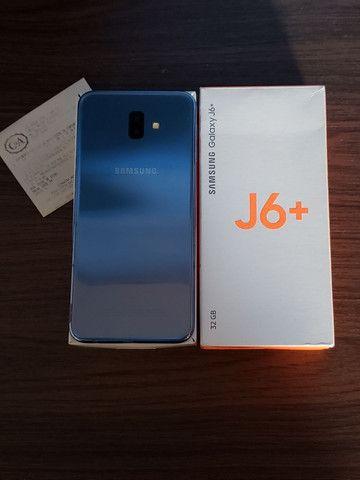 Samsung J6 Plus Prata 32Gb (SEMI-NOVO+NOTA FISCAL)  - WHATS ( 8 4 ) 9 8 8 3 8 - 8 8 8 8 - Foto 2