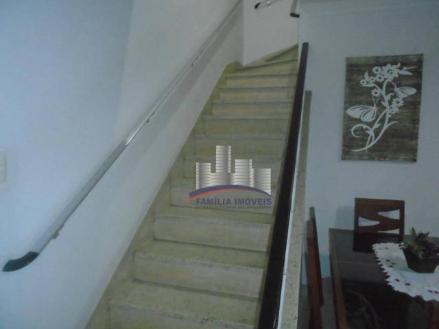 Sobrado com 3 dormitórios à venda por R$ 530.000,00 - Campo Grande - Santos/SP - Foto 9